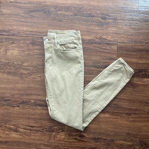 Tan Levi's Jeans